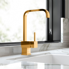 Gold Designer Kitchen Taps